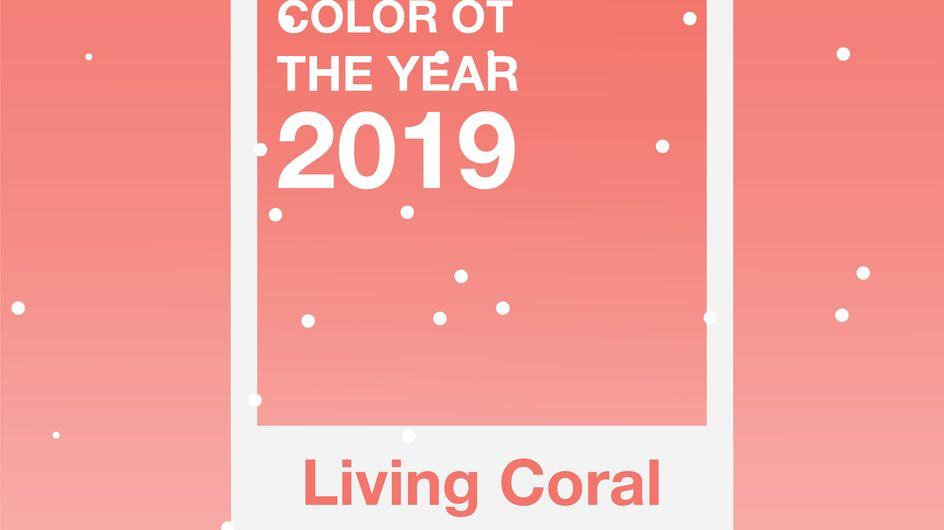 Living Coral sarà il colore del 2019!