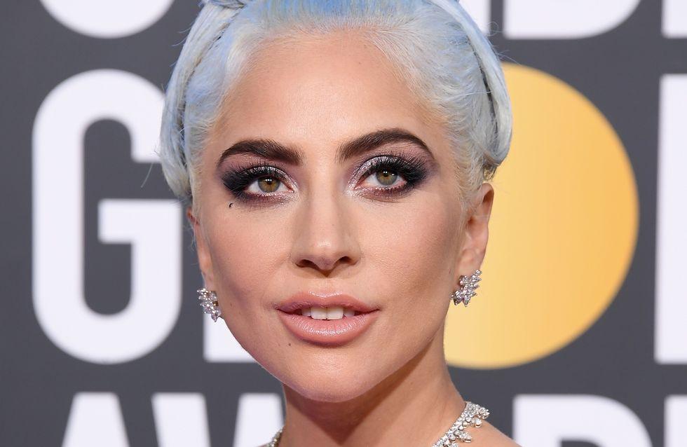 Avec 5 millions de dollars de bijoux sur elle, Lady Gaga fait sensation aux Golden Globes