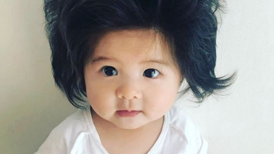 Baby Chanco : le bébé à la chevelure volumineuse devient mannequin et on craque