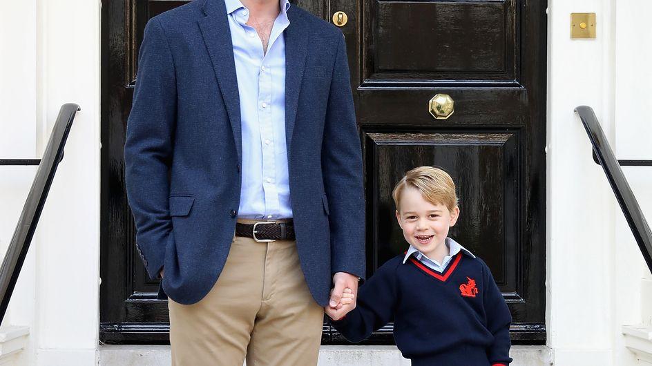 Le prince George ne pourra bientôt plus voyager avec son père