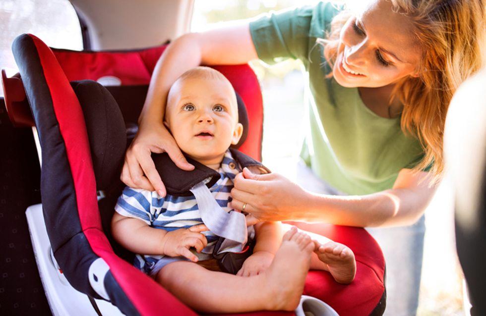 Dans cette région, seul un enfant sur quatre est correctement attaché en voiture