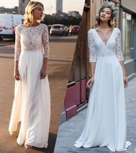 30 robes de mariée pour se dire oui en 2019