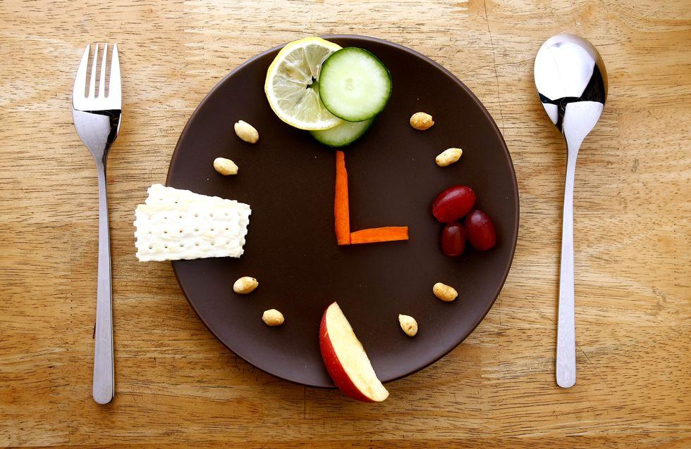 Régime chrononutrition, manger les aliments au bon moment