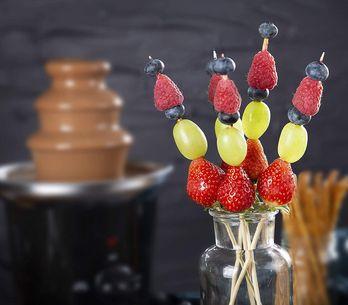 Nos idées d'aliments pour une délicieuse fondue au chocolat