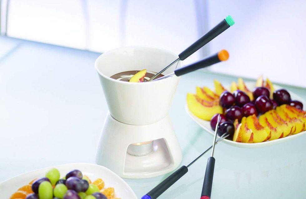 Avec ces appareils, pas besoin d'électricité pour profiter d'une fondue au chocolat !