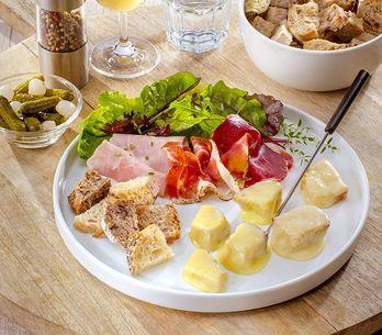 Avec quoi accompagner une fondue au fromage ?