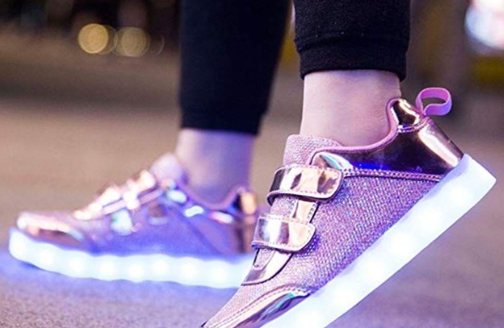 Las zapatillas luminosas más top por menos de 30€