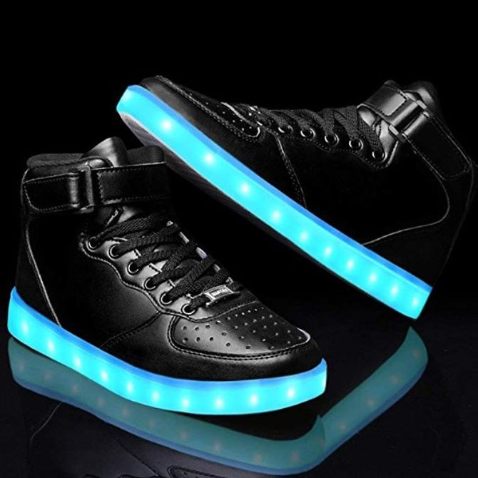 Zapatillas luminosas Lekuni