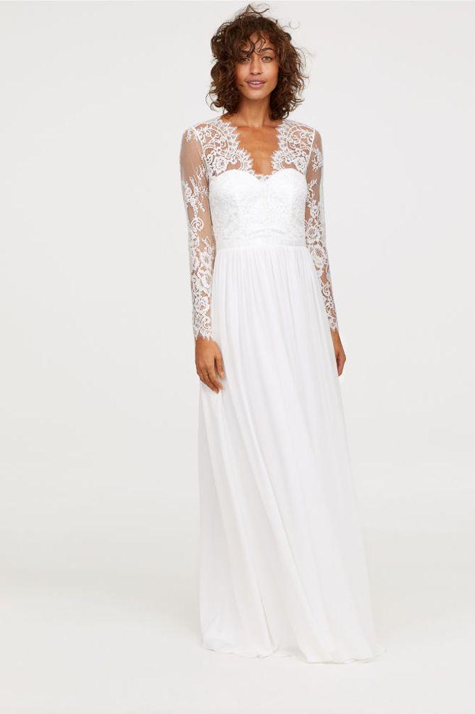 Robe de mariée, H&M, 199€