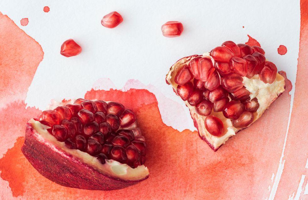 Granatapfel öffnen: Mit diesen 3 Tricks klappt's fleckenfrei