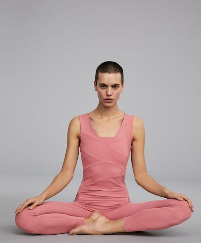 Ma tenue parfaite pour la méditation : combinaison à l'aloe vera, 59,99 €