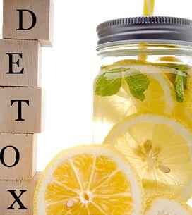 Los 5 productos detox naturales que FUNCIONAN de verdad