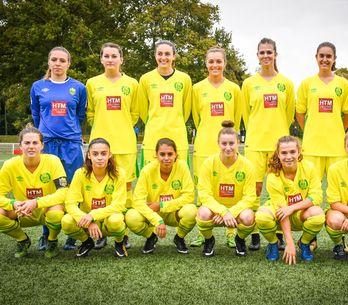 Trop fortes, les footballeuses de Nantes jouent pour la première fois contre des