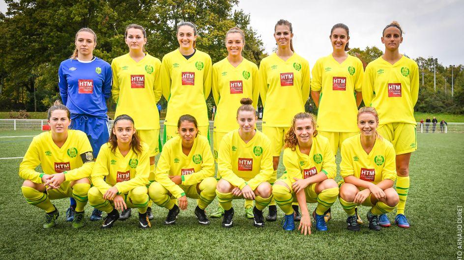 Trop fortes, les footballeuses de Nantes jouent pour la première fois contre des garçons