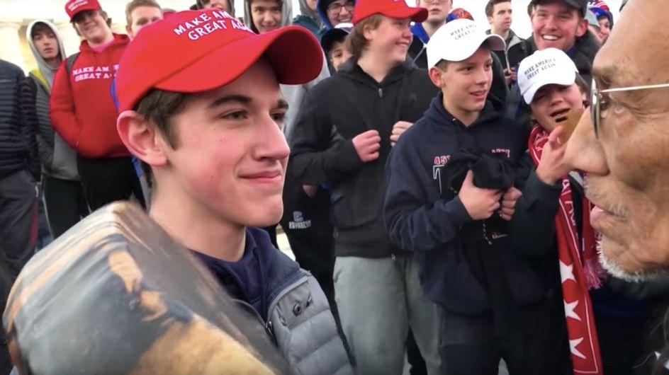 Un adolescent pro-Trump s'en prend à un vétéran amérindien et choque le monde entier (vidéo)
