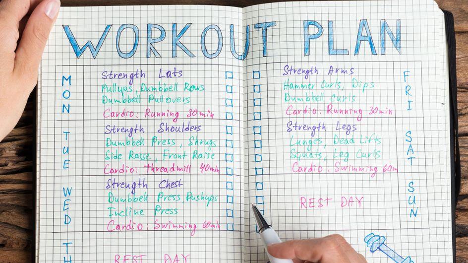 Auf einen Blick: Alle Wochenpläne für das große Fitness-Special go FIT