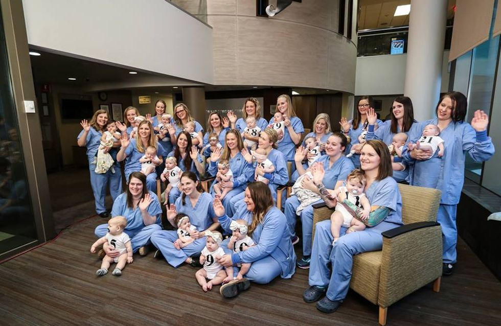 Baby boom ! 31 infirmières d'un même hôpital accouchent de 32 bébés quasi au même moment