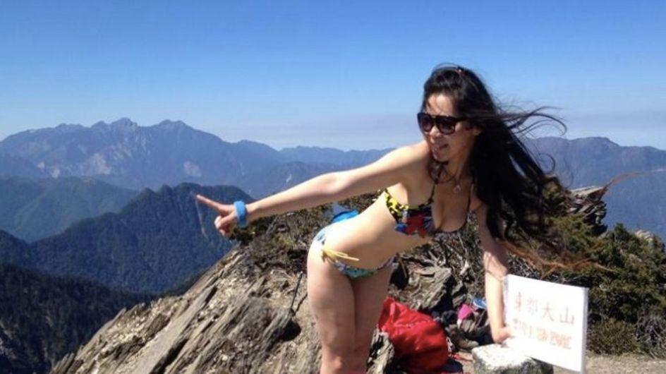 """Gigi Wu, la """"randonneuse en bikini"""", a trouvé la mort à cause d'un post Instagram"""