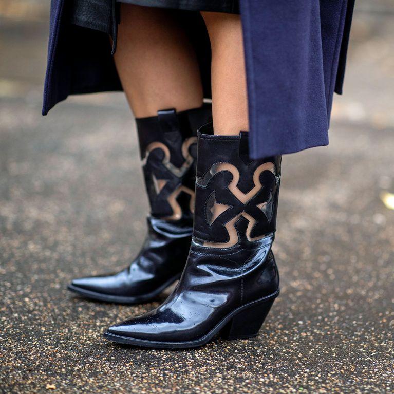 Stiefel Trend: Die schönsten Lackleder Boots für den Winter