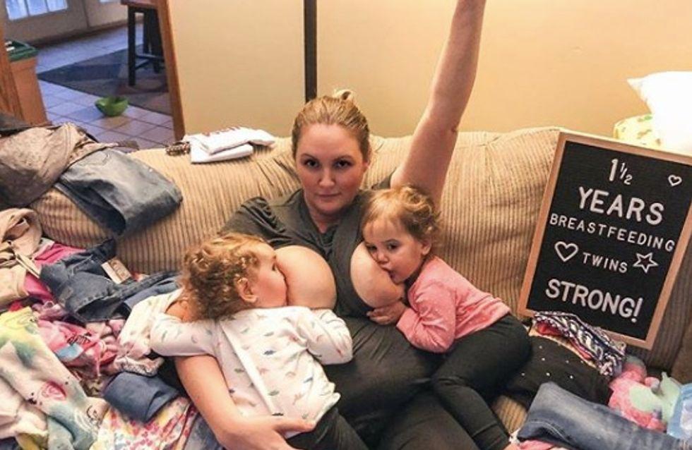 On lui demande d'allaiter dans un placard de la garderie, cette maman répond en photo