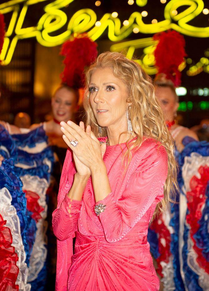 Céline Dion ose la robe rose fluo, et elle est canon ! (photos)