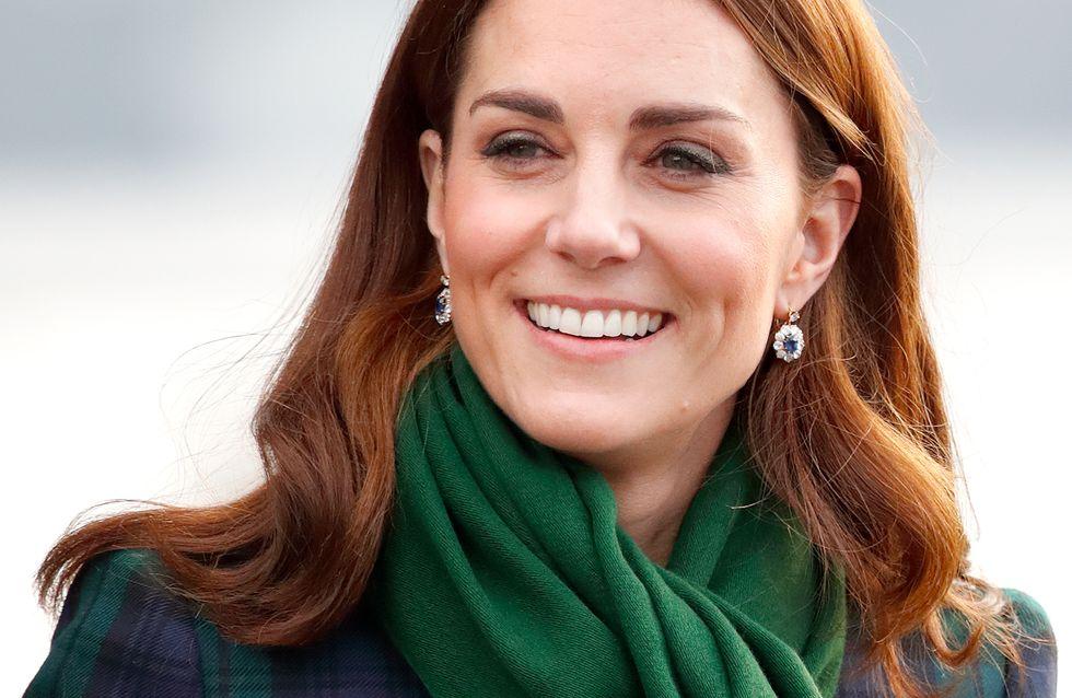 Avec son look écossais, Kate Middleton séduit tout le monde