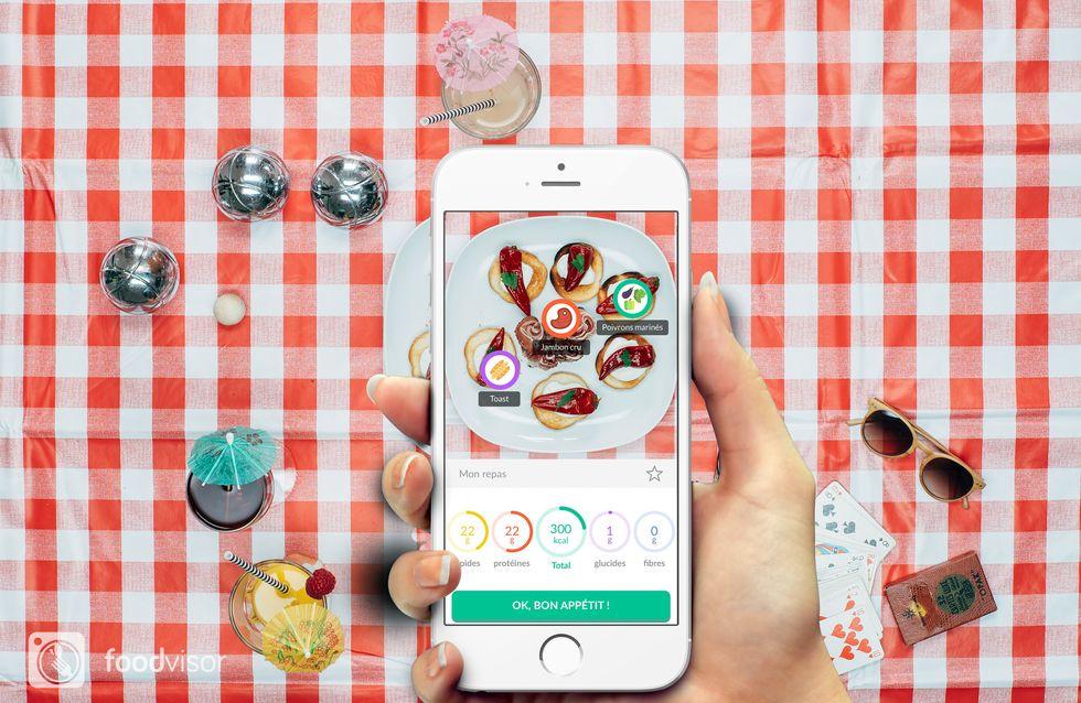 Foodvisor, l'appli qui calcule les calories grâce à une photo de l'assiette