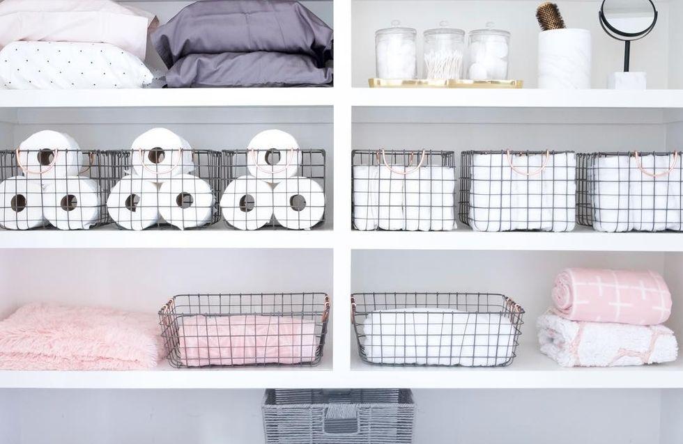 4 conseils de Marie Kondo pour bien ranger sa salle de bain et ses produits de beauté