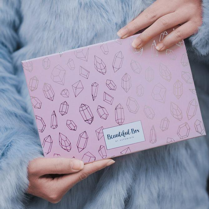 """La Beautiful Box by aufeminin """"Hiver Précieux"""" de février 2019"""