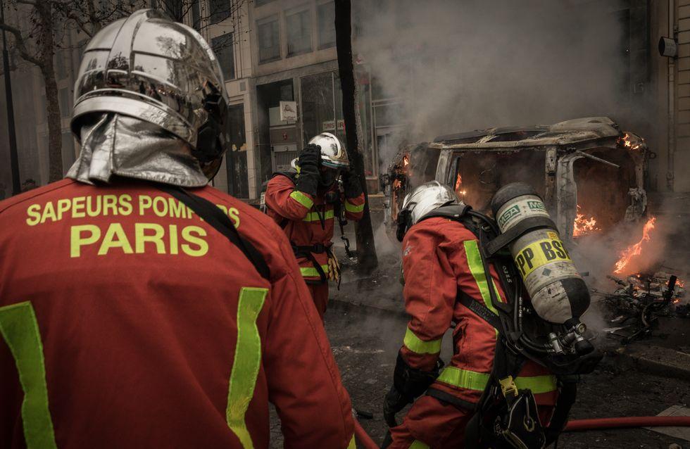 A Paris, un incendie fait plusieurs morts et blessés, dont des pompiers