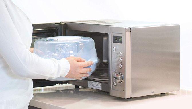 Stérilisateur micro ondes