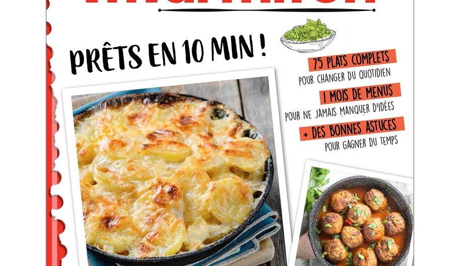 """""""Prêt en 10 minutes"""" : le nouveau livre de recettes ultra rapides de Marmiton !"""