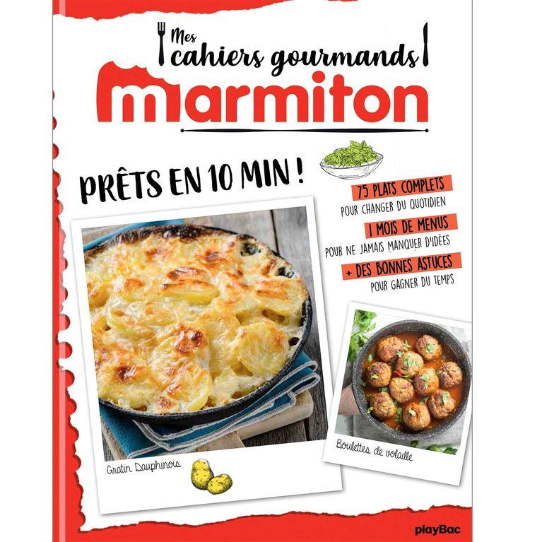 \u201cPrêt en 10 minutes\u201d  le nouveau livre de recettes ultra rapides de  Marmiton !