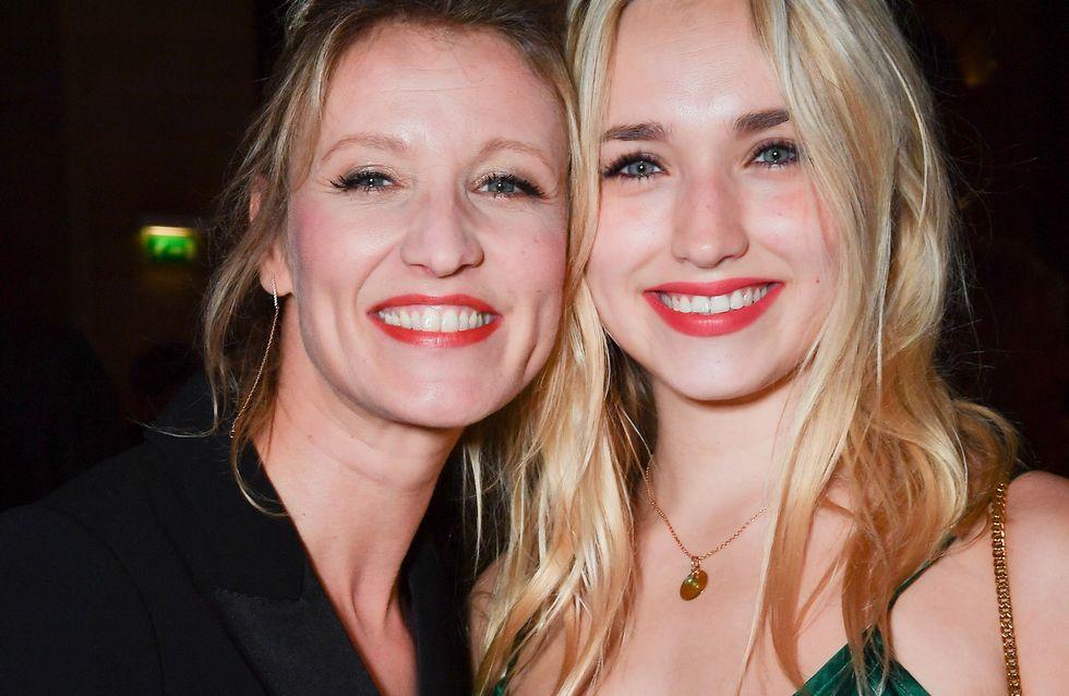 Alexandra Lamy, apparition chic et stylée avec sa fille Chloé Jouannet