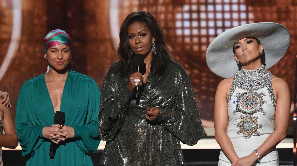 Michelle Obama fait sensation aux Grammy Awards avec un émouvant discours sur la diversité