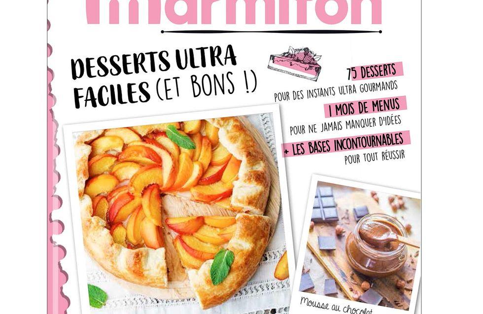 Avis aux gourmands ! Le livre Desserts ultra faciles de Marmiton est sorti...