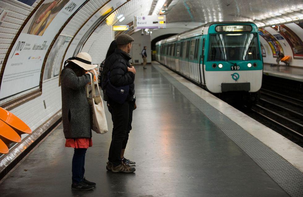 Paris : deux personnes brûlées par de l'acide sulfurique dans le métro