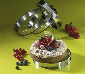 Les différentes utilisations des cercles à pâtisserie