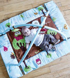 10 tapis d'éveil pour bébé