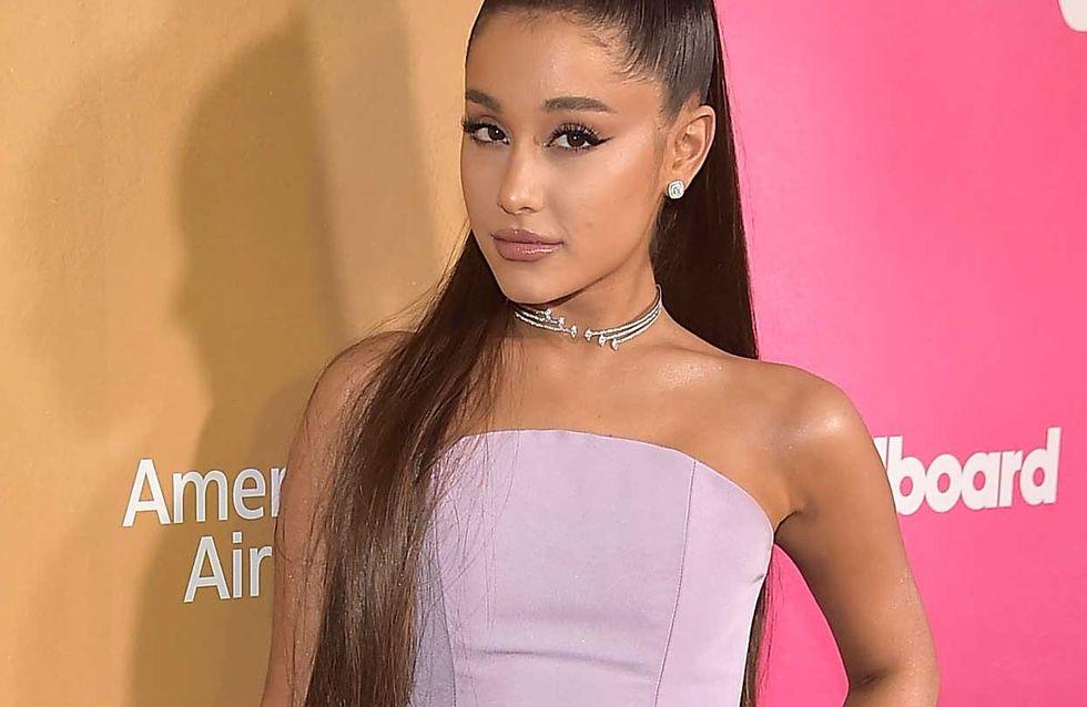 Ariana Grande partage une vidéo de ses cheveux naturels, on ne la reconnaît pas !