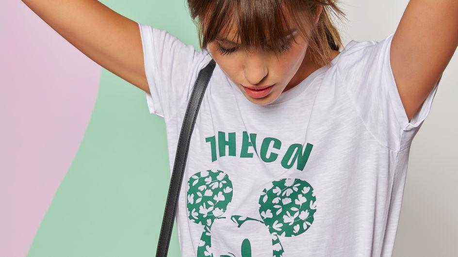 Camaïeu sort une collection de t-shirts Mickey et on les veut tous !
