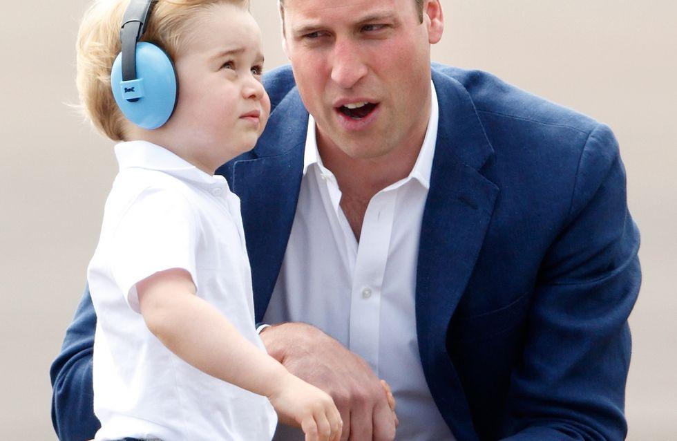 Le prince William confie son angoisse après la naissance de George