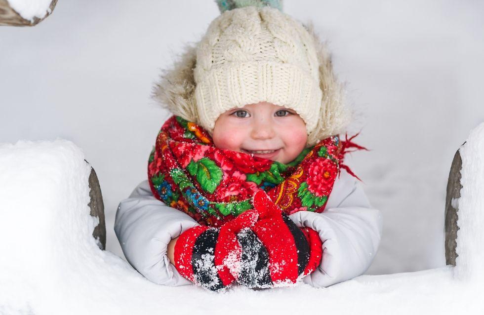 Le più carine tutine da neve per i bebè