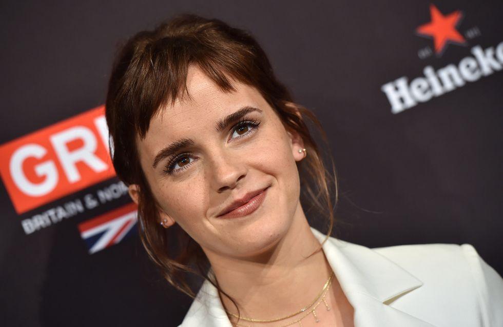 Pourquoi Emma Watson est-elle reçue à l'Elysée aujourd'hui ?