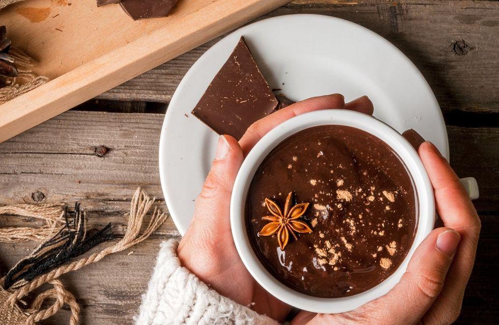 Come fare la cioccolata calda in casa, bella densa e con il cacao!
