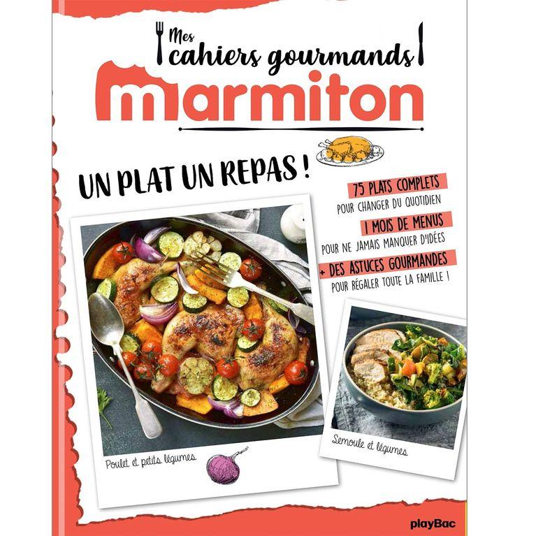 Le Livre De Recettes Marmiton Un Plat Un Repas Est Sorti