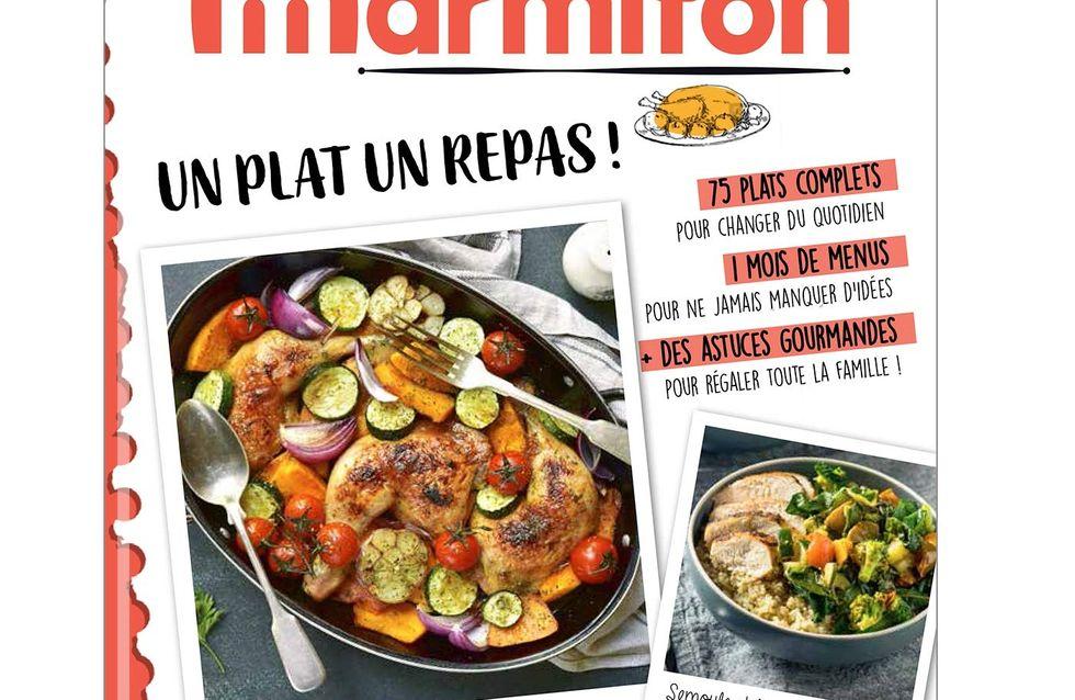 """Le nouveau livre de recettes Marmiton """"Un plat, un repas !"""" est sorti !"""
