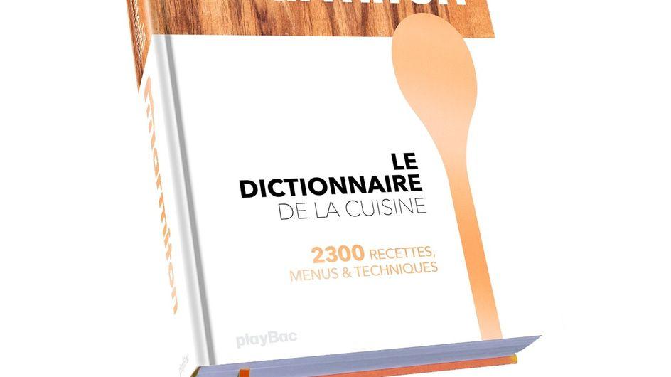 Voici un cadeau délicieusement original : le dictionnaire de cuisine Marmiton !