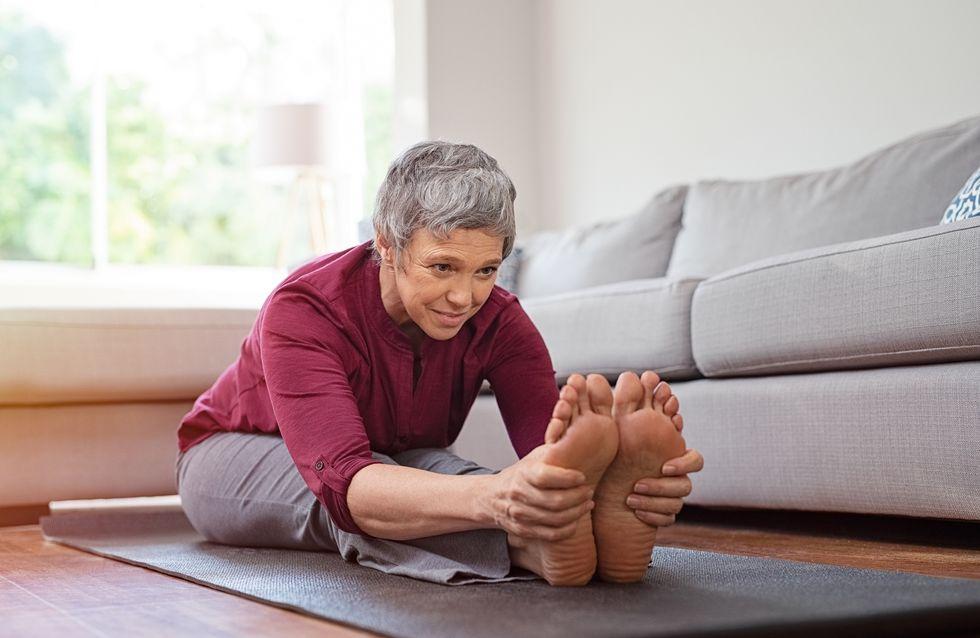 Consejos para cuidar los pies de los más mayores
