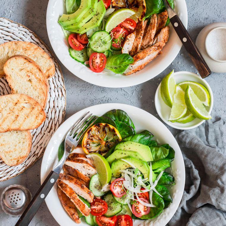 Leichte Küche, kalorienarm, ausgewogen